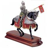 Armaduras Spanish Knight Miniature On Horseback