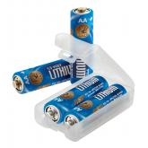 ASP AA Lithium Battery 12-Pack with Link Case