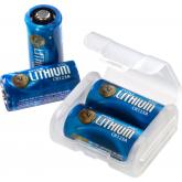 ASP CR123A Lithium Battery 12-Pack with Link Case