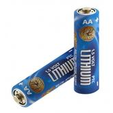 ASP AA Lithium Batteries, 2 Pack