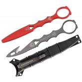 Benchmade 179GRY-COMBO SOCP Rescue Hook Tool with Trainer, 6.75 inch Overall, Black Sheath
