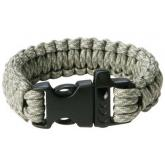 Maxam 9 inch Digital Camo Paracord Bracelet, Whistle Buckle