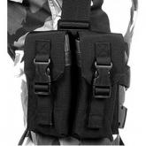 Blackhawk Omega Enhanced M-16 Drop Leg Pouch, Holster, Black