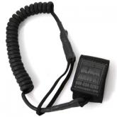 BLACKHAWK! Tactical Pistol Lanyard, Coil Black