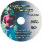 Boker DVD Basic Techniques Knife Throwing Video Part 1 by John Bailey