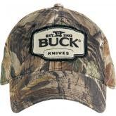 Buck 89068 Adjustable Logo Cap, RealTree Xtra Camo