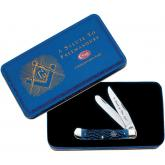 Case Masonic Trapper Gift Set 4-1/8 inch Closed (6254 SS Trapper Masonic Set)