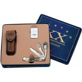 Case Hobo® 4-1/8 inch Closed with Zippo® (6354HB SS Hobo with Spoon Gift Box/Tin Set)