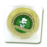 Colonel Conk Regular Lime Fragrance Shave Soap 2-1/4 inch Diameter with Glycerine Base