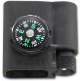 Columbia River 9700 Paracord Survival Bracelet Accessory, Compass and LED