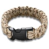 Columbia River 9300TL (Large) Onion Survival Para-Saw Paracord Bracelet, Tan