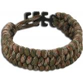 Columbia River 9400C Tom Stokes Adjustable Paracord Bracelet, Camo