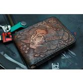 Custom Knife Factory Handmade Leather Wallet, GSHPZDZ