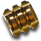 Darrel Ralph Designs Polished Gold Titanium L1 Mega Bead