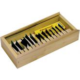 Flexcut 14-Piece Power Gouge Set, 14 Different Style Blades, Storage Box