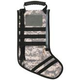 GenPro RuckUp ACU Digital Camo Tactical Christmas Stocking with MOLLE Attachment