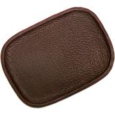 Greg Everett Handcrafted Custom Leather Valet Tray 11 inch X 8 inch Rustic Reddish Brown Finish