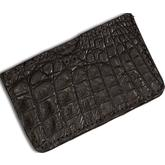 Greg Everett Handcrafted Custom Genuine Gator Hide Slip Wallet 4 inch x 2.5 inch