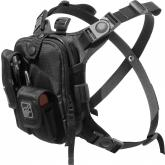Hazard 4 Covert Escape RG Flashlight/Tool/Camera/Cycling Chest Pack, Black