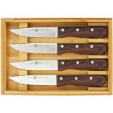 Zwilling J.A. Henckels Steakhouse 4 Piece Jumbo Steak Knife Set (39134-000)