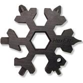 HexFlex Black Standard Adventure Tool 2.5 inch Overall, Black Oxide Stainless Steel