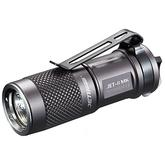 JETBeam JET-II MK Rechargeable Black Aluminum LED Flashlight 1x16340, 510 Max Lumens