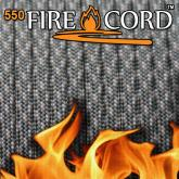 Live Fire Gear 550 FireCord Paracord, ACU Digital Camo, 25 Feet