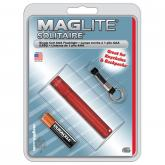 Maglite Solitaire Flashlight - Red Body