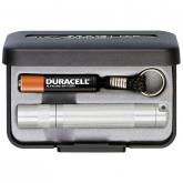 Maglite Solitaire Flashlight in Gift Box - Silver Body