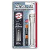 Maglite Minimag AA Flashlight and Holster Pack - Silver Body