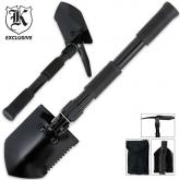 Folding Entrenching Survival Shovel, Nylon Sheath