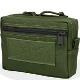 Maxpedition 0244B 5x7x2 Horizontal GP Pouch - Low Profile, OD Green