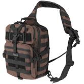 Maxpedition 0423BR Malaga Gearslinger Backpack, Dark Brown