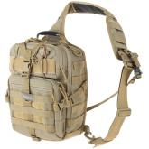 Maxpedition 0423K Malaga Gearslinger Backpack, Khaki