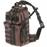 Maxpedition 0431BR Sitka Gearslinger Backpack, Dark Brown