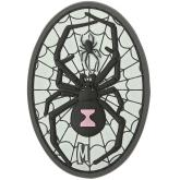 Maxpedition BKWDZ PVC Black Widow Patch, Glow