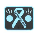Maxpedition BLUBZ PVC Blue Balls Awareness Patch, Glow