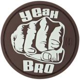 Maxpedition BROFZ PVC Bro Fist Patch, Glow