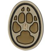 Maxpedition DOG1A PVC Small Dog Track Patch, Arid