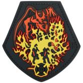 Maxpedition DRAGC PVC Fire Dragon Patch, Color