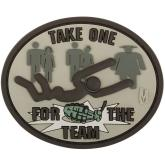 Maxpedition FORTA PVC Take One for the Team Patch, Arid