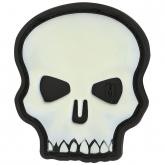 Maxpedition HISKZ PVC Hi Relief Skull Patch, Glow