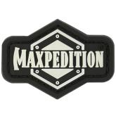Maxpedition INGLZ PVC 1 inch Full Logo Patch, Glow