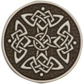 Maxpedition KELTA PVC Celtic Cross Patch, Arid