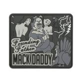 Maxpedition MACKS PVC Ben Franklin Mack Patch, SWAT