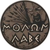 Maxpedition MOLBA PVC Molon Labe Patch, Arid