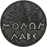 Maxpedition MOLBS PVC Molon Labe Patch, SWAT