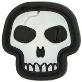 Maxpedition MSKLZ PVC Mini Skull Patch, Glow