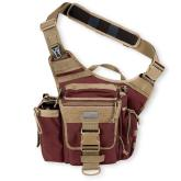 Maxpedition 0412OF Jumbo Versipack, Maroon-Khaki