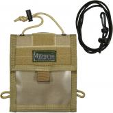 Maxpedition 0803K Traveler Deluxe Passport & Organizer, Khaki